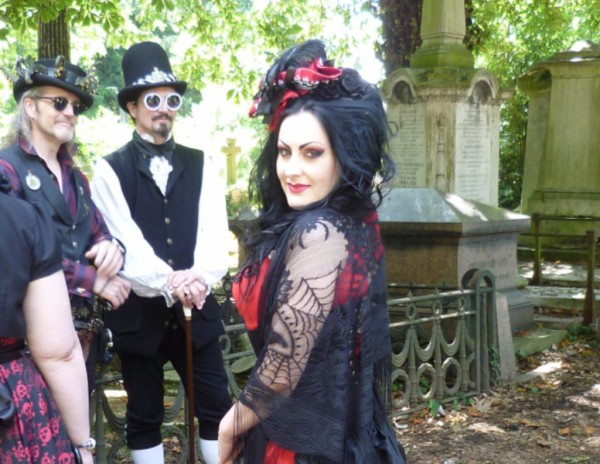 Gothic fayre at Kensal Green Cemetery
