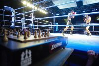 Chess Boxers fight it out in the ring